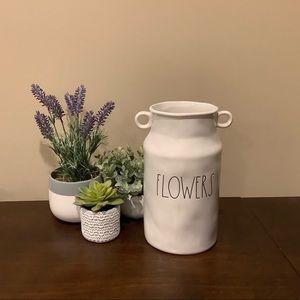 FABulous Rae Dunn Large FLOWERS Vase Urn 🌺